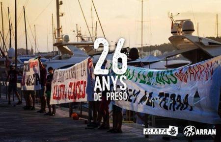 Mit diesem Foto wollen Arran und die Gruppe Alerta Solidaria zeigen, wie friedlich die Demonstration vonstatten ging.