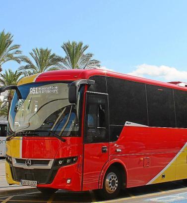 Neue Busse: Ab dem kommenden Jahr ist ein Großteil von Mallorcas Überlandfahrzeugen gasbetrieben unterwegs.