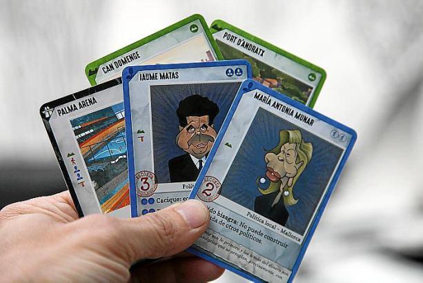 Einmal im Leben korrupter Politiker sein? Mit dem Kartenspiel Ladrillazo ein Kinderspiel.