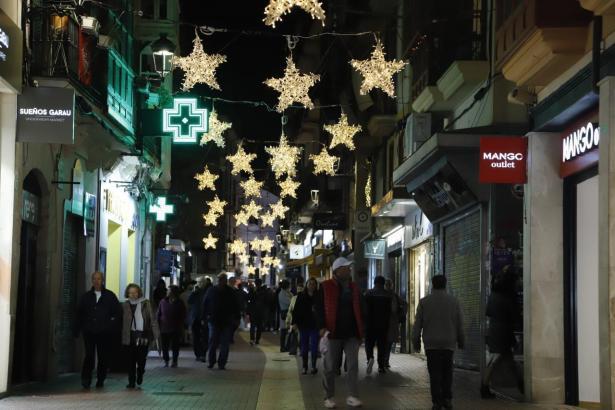 Der Carrer Sindicat ist eine von Palmas beliebten Einkaufsstraßen.