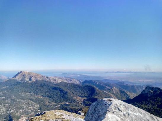 So sonnig sieht es derzeit auf Mallorca aus.