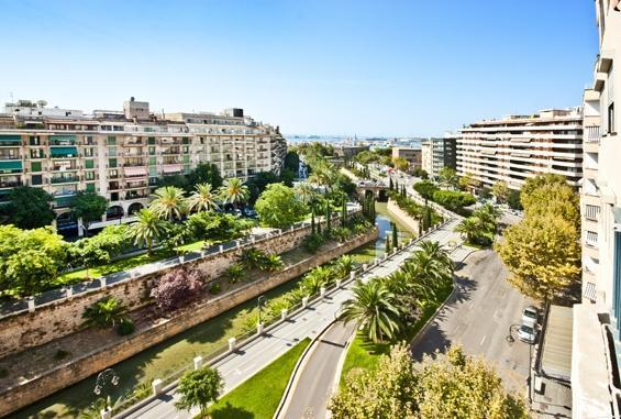 Der Passeig Mallorca.