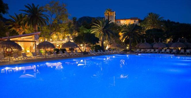 Auch das Hotel Es Port in Port de Sóller gehört zu den Spitzenhäusern.