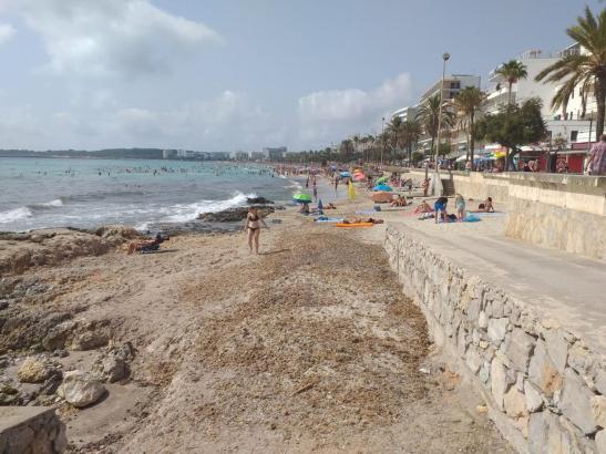 Früher war der Strand beeindruckender.
