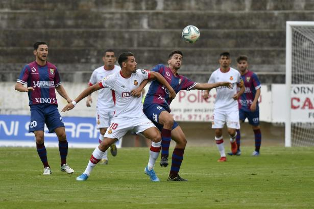Álex Alegría (in Weiß, Archivbild) machte den entscheidenden Treffer für Real Mallorca.