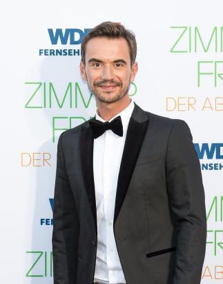 Moderator Florian Silbereisen.