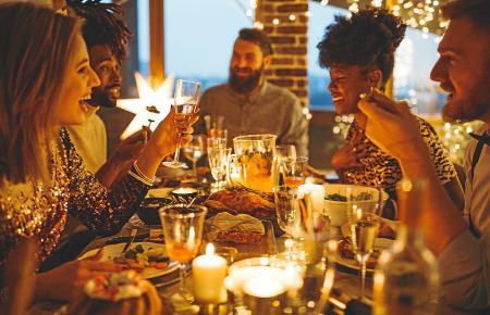 Silvester wird auf Mallorca gern wieder im Restaurant gefeiert.
