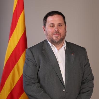 Oriol Junqueras genießt laut EU-Gerichtshof Immunität, sitzt in Spanien allerding im Knast.