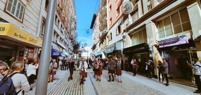 Alles neu, alles adrett: Die neue Calle Velázquez.