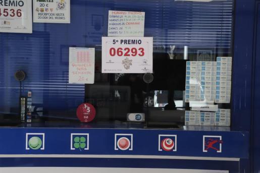 """Das gewinnreichste Glückslos für Mallorca war in der Lotterieannahmestelle """"La Pepita De Oro"""" in Palma verkauft worden."""