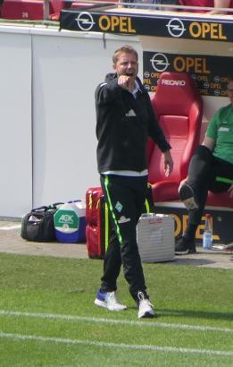 Florian Kohfeldt ist seit Ende 2017 Cheftrainer der Werder-Bremen-Profis.