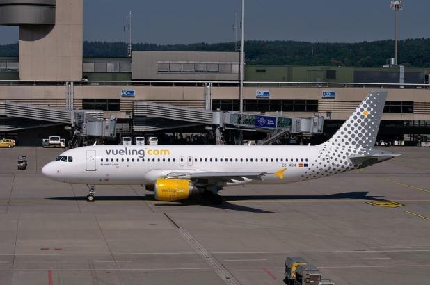 Vueling steuert auch Flughäfen im deutschsprachigen Raum an.