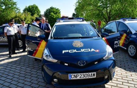 Eines der intelligenten Autos der spanischen Nationalpolizei.