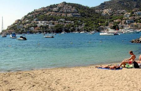 Sommer-Urlauber auf Mallorca.