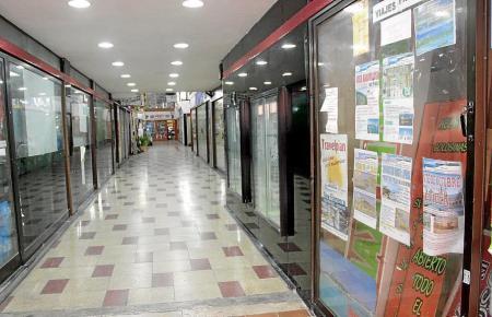 Die Denkmalschützer präsentierten ïhre Pläne für das ehemalige Shoppingzentrum.