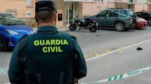 Beamter der Guardia Civil im Einsatz.