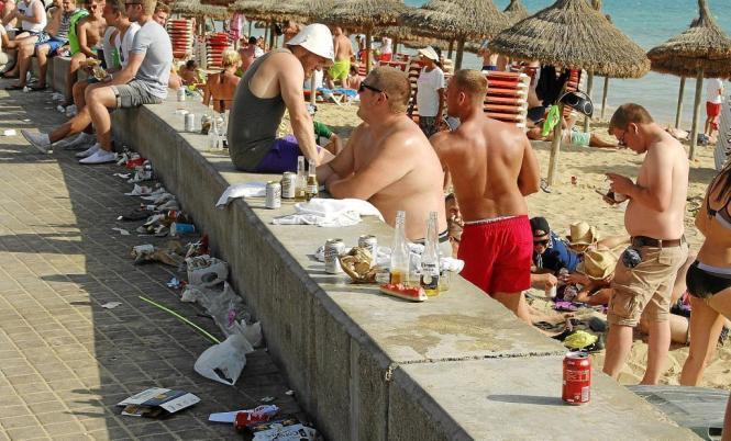 So soll es an der Playa de Palma künftig nicht mehr aussehen.
