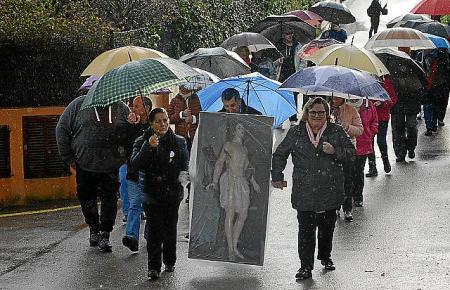 Prozession nur mit Foto: Das sorgt für Unfrieden in Es Capdellà.