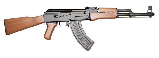 Für solche Sturmgewehre vom Typ AK-47 soll sich der Angeklagte interessiert haben.