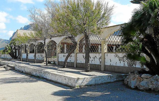Früher beliebt, heute verfallen: Der Campingplatz von Colònia de Sant Pere.