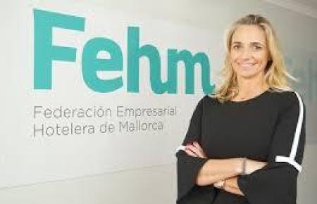 Die Chefin des Insel-Hotelierverbandes María Frontera.