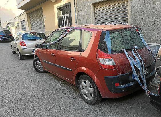 In diesem Auto starb das zehn Monate alte Mädchen.