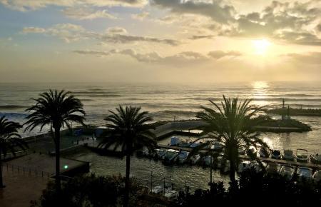 In Cala Bona sieht es zurzeit recht heimelig aus.