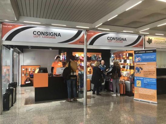 So sieht die neue Gepäckaufbewahrung am Flughafen von Palma de Mallorca aus.
