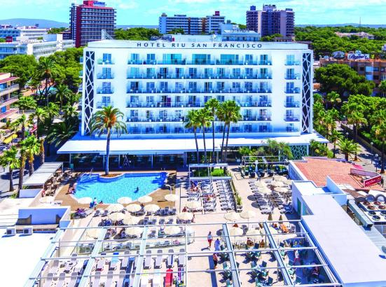 Riu-Hotel an der Playa de Palma.