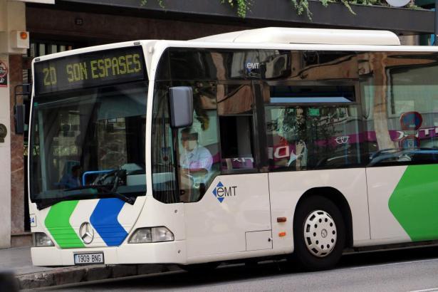 EMT-Bus in Palma de Mallorca.