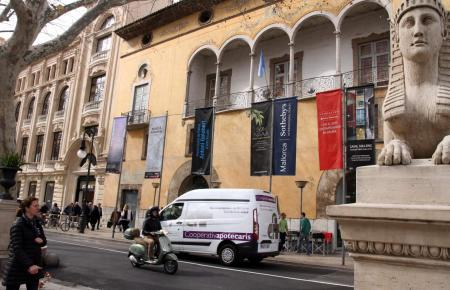 Die städtische Galerie Casal Sólleric befindet sich am Borne im Zentrum von Palma.