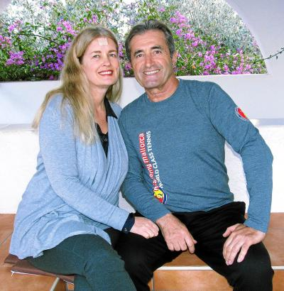 Ali Yenilmez und seine Frau Valerie fühlen sich auf Mallorca zu Hause.