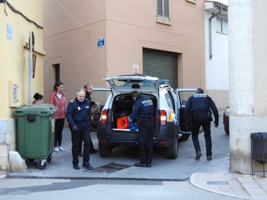 Ein 40-jähriger Angreifer wurde in der Calle de Tetuán in Andratx festgenommen.