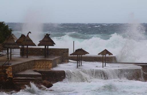 Sturm über Mallorca.