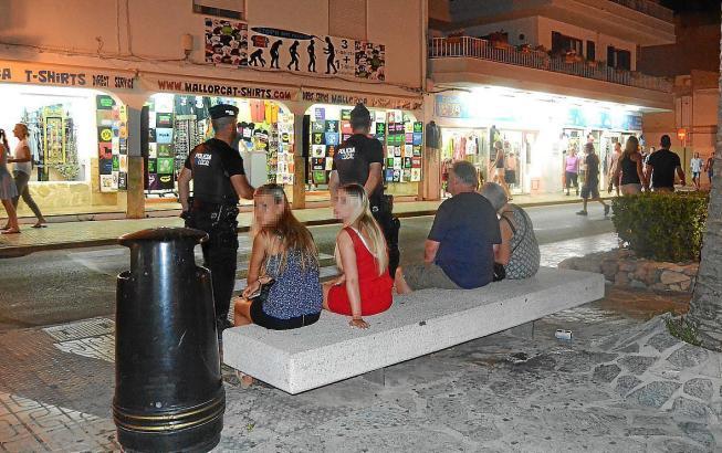 Abendstimmung im Sommer in Cala Rajada.