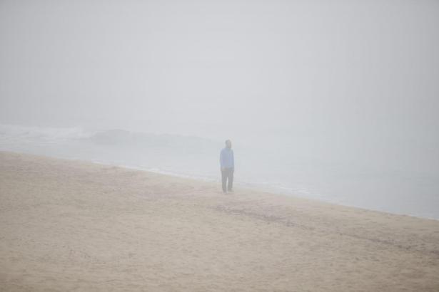 So sieht es aus, wenn auf Mallorca der Nebel kommt.