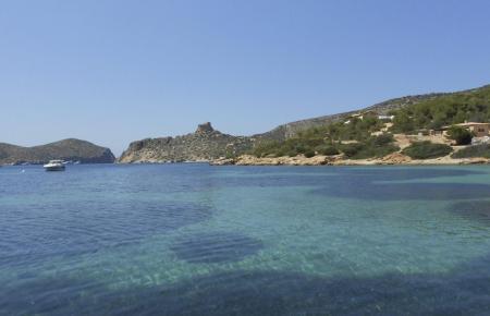 Blick auf die Insel Cabrera.