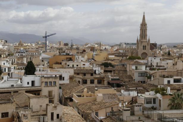 In der Altstadt von Palma war das Mieten von Wohnungen zeitweise unerschwinglich.