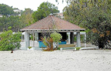 Den Politikern ein Dorn im Auge: Beton-Chiringuito an der Cala Mondragó.