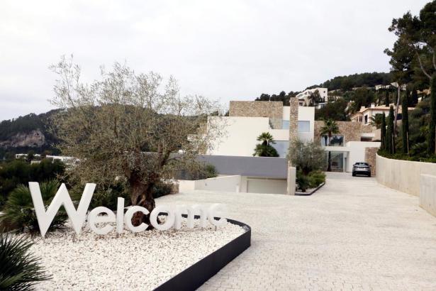 Blick auf eine von Spaniens teuersten Villen: Das 19,8-Millionen-Euro-Objekt steht auf Mallorca in Palmas Stadtteil Son Vida.