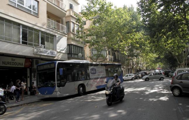 Noch fahren auf der Nuredduna-Straße Busse.