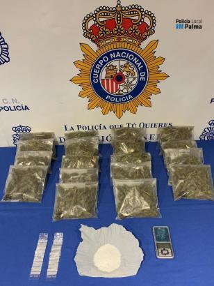 Diese Drogen wurden auf der Finca sichergestellt.