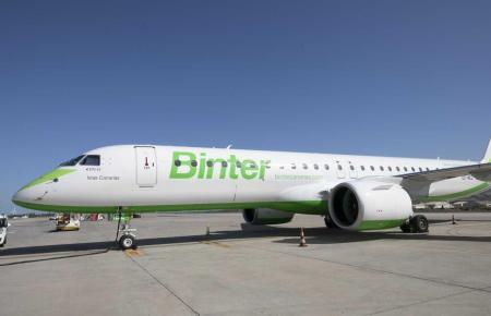 Die Fluggesellschaft Binter ist spezialisiert auf Kanaren-Flüge.