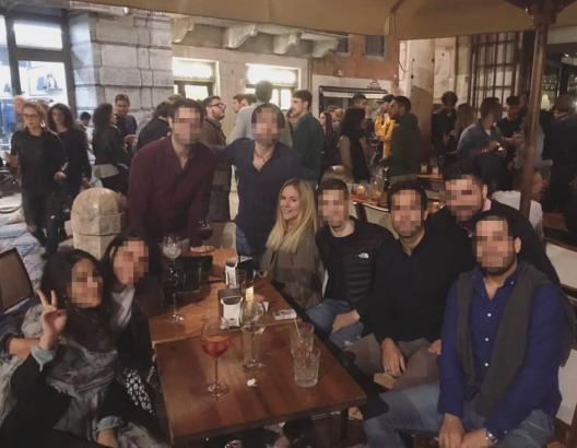 Mallorquinerin Noemi Montes Leza (unverpixelt) befindet sich derzeit mit anderen Spaniern für ein Erasmus-Austauschjahr in Italien.