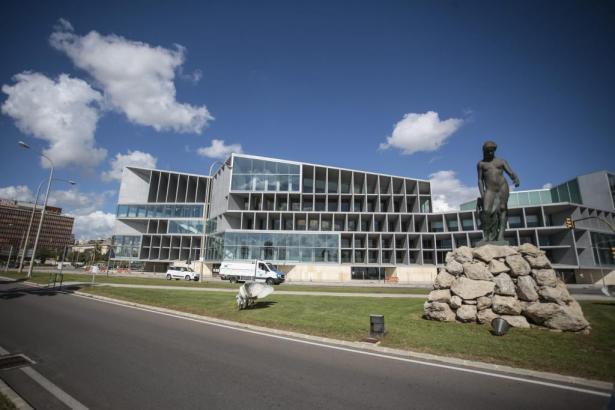Palmas Kongresspalast befindet sich am Ortseingang direkt am Paseo Marítimo.