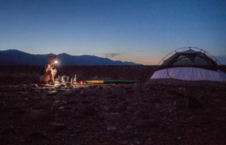 Campen auf Mallorca, das kann auch sehr romantisch sein.