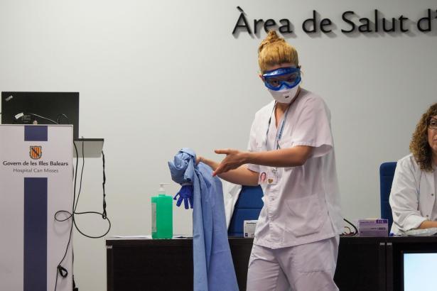 Auf den Balearen sieht man sich gut gegen das Coronavirus gerüstet.