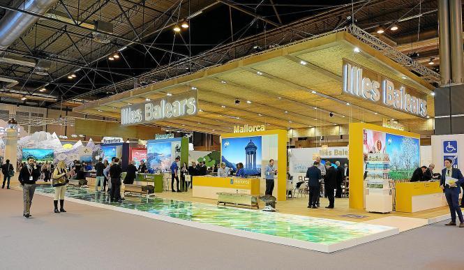 Auch Mallorca wäre am Balearen-Stand in Halle 2.1 auf der Reisemesse ITB wieder vertreten gewesen.