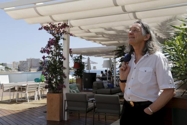 War schon oft auf Mallorca: Roger Hodgson – hier 2015 in Port Adriano.