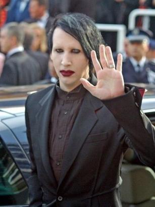 Marilyn Manson beim Film-Festival in Cannes.